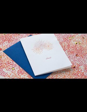 ALBERTINE PRESS - CARD, Celebrate, .