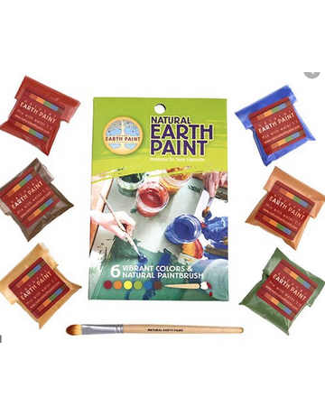 Natural Earth Paint - Children's Earth Paint Kit Petite