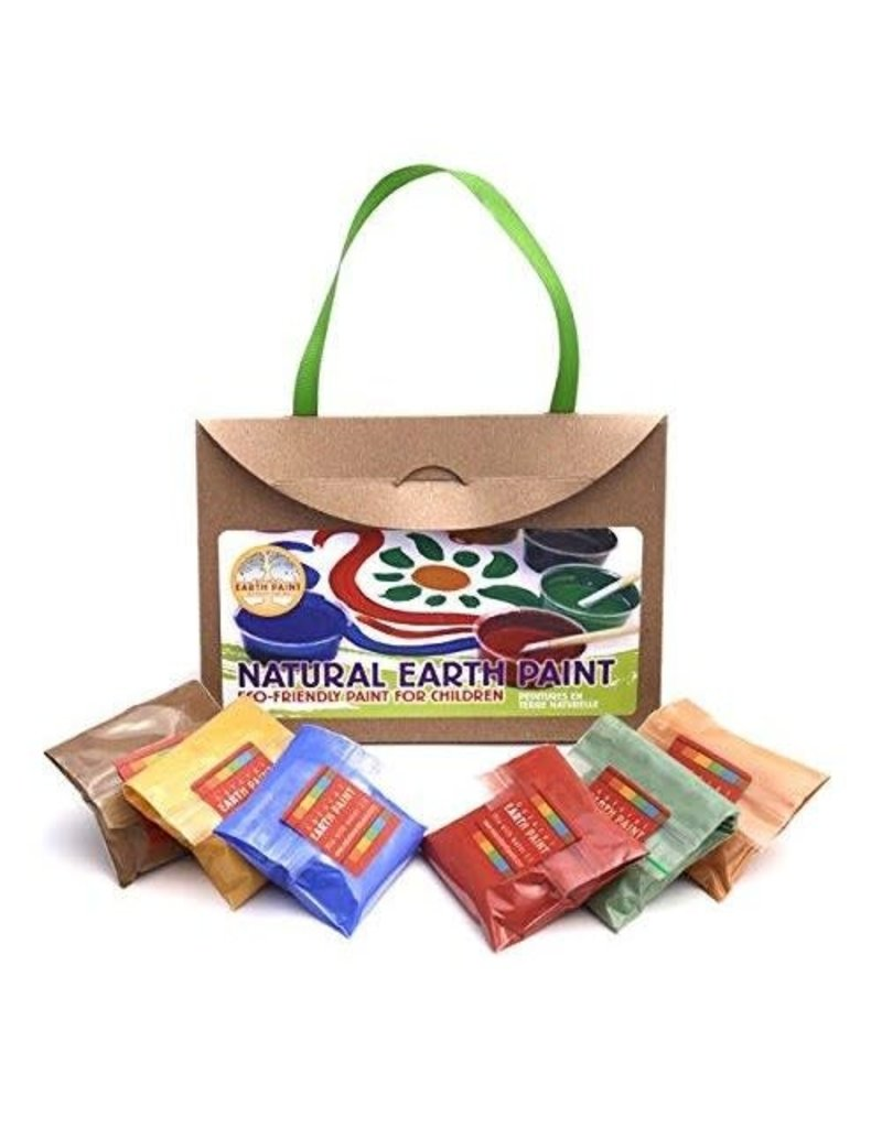 Natural Earth Paint - Children's Earth Paint Kit Petite