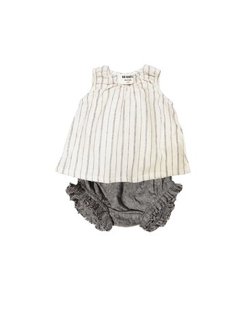 Go Gently Nation Go Gently Nation - Woven Stripe Baby Set