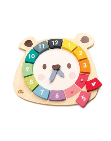 Tender Leaf Toys Tender Leaf Toys - Bear Colors Clock