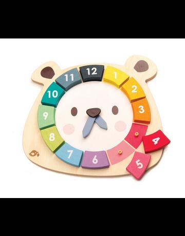 Tender Leaf Toys Tender Leaf Toys - Bear Colors Clock