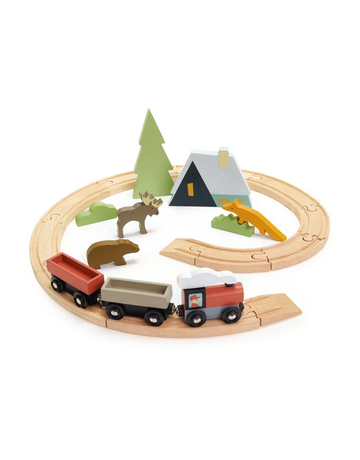 Tender Leaf Toys Tender Leaf Toys - Treetops Train Set