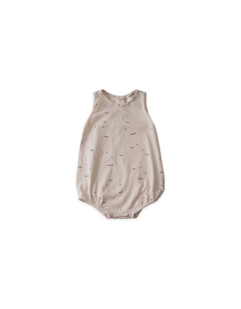 Go Gently Nation Go Gently Nation - Jersey Onesie Sandstone 'A Time' 18-24