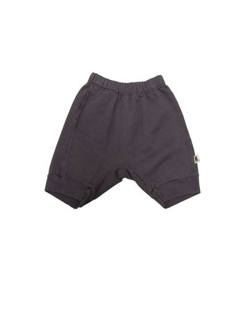 Go Gently Nation Go Gently Nation - Raw Seam Track Short Charcoal 2T