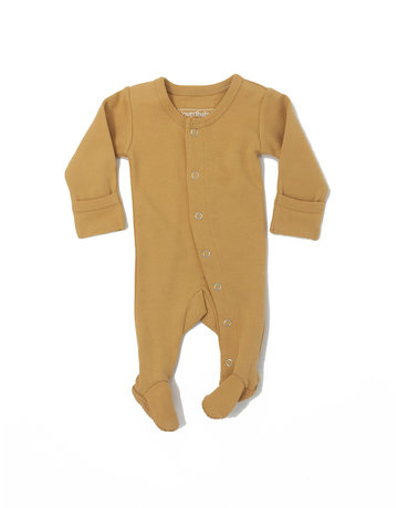 L'ovedbaby L'ovedbaby - Footed Overall Honey 3-6