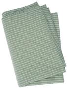 Serendipity Organics - Quilt Blanket Olivestripe