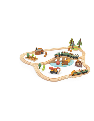 Tender Leaf Toys Tender Leaf Toys - Wild Pines Train Set
