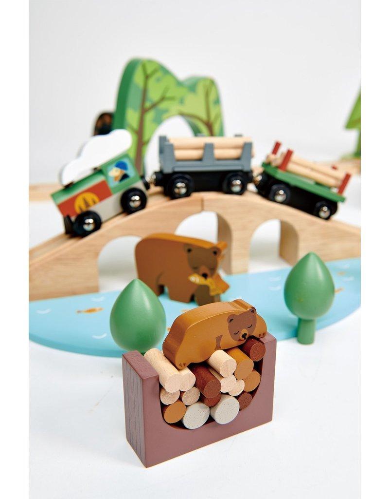 Tender Leaf Toys Tender Leaf Toys - Wild Pines Train Set