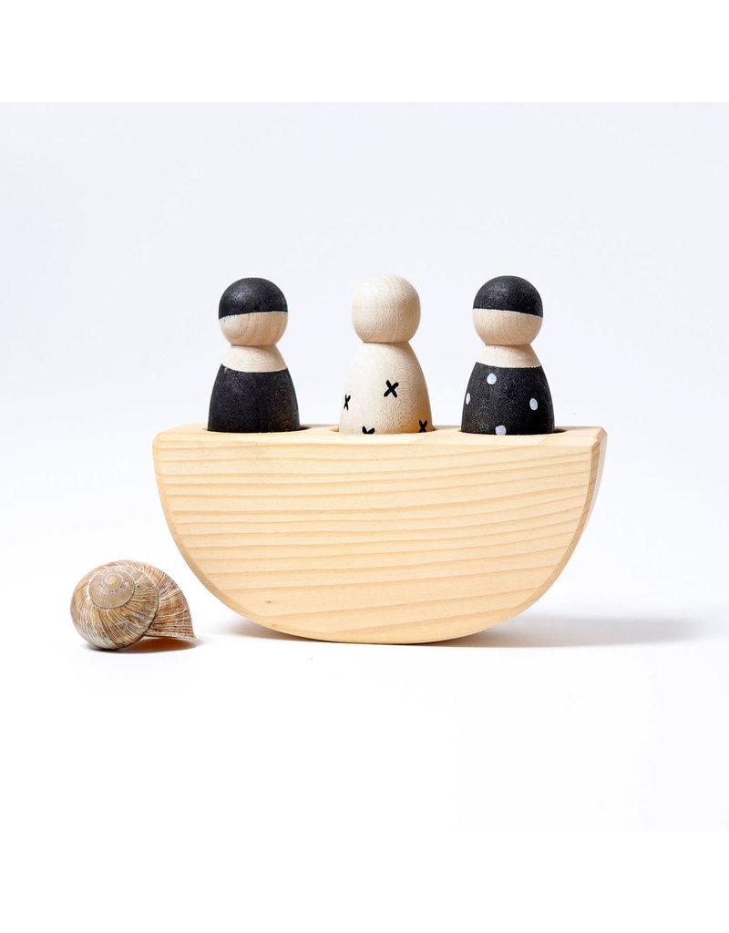 Grimm's Grimm's Three In A Boat Monochrome