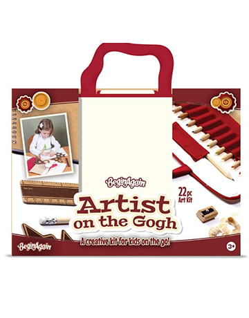 BeginAgain - Artist on the Gogh 22pc Art Kit
