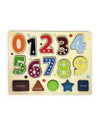 BeginAgain - Numbers & Shapes Puzzle Shape Sorter