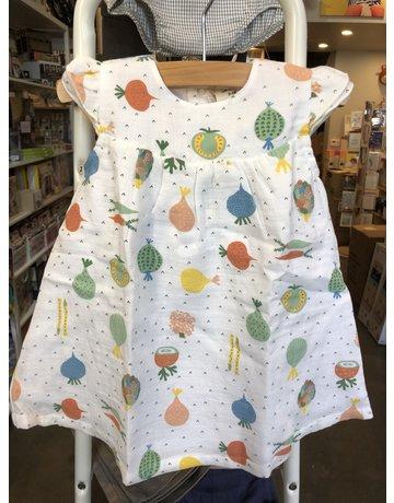 Viverano Ruffled Cap Dress with Bloomer