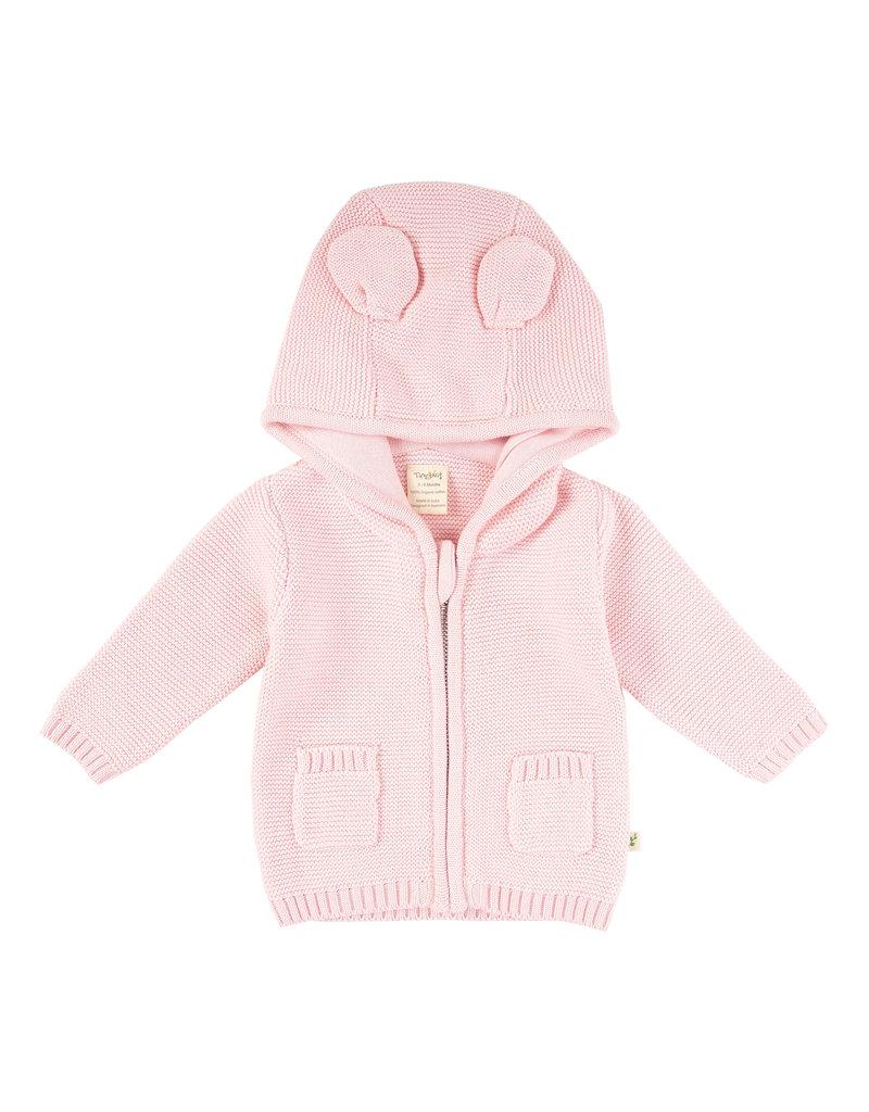 Tiny Twig Knitted Zip Hoodie