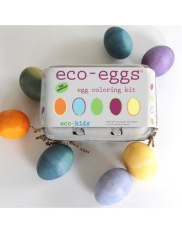 Eco Kids Eco Kids - Eco Eggs Coloring & Grass Growing Kit