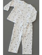 Feather Baby Feather Baby  - Henley Shirt + Pant