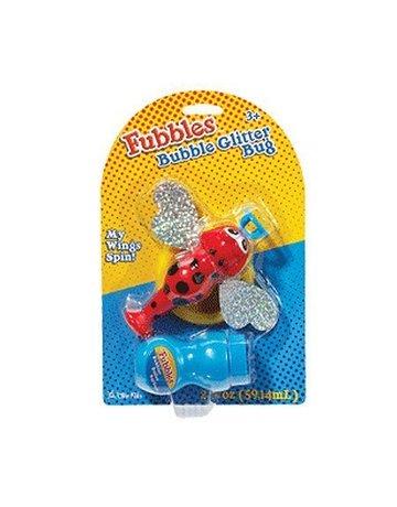 Fubbles Fubbles Bubblin' Glitter Bug