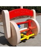 Pure Play Kids Wooden Lawn Mower/Vacuum