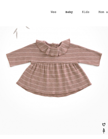Play Up Play Up Striped Jersey Top