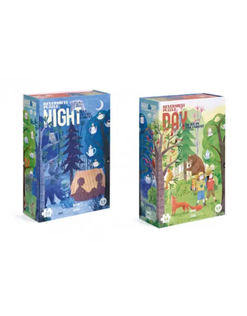 Magic Forest Ltd Magic Forest Day and Night in the Forest Puzzle