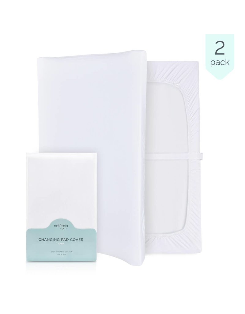 Natemia Natemia Organic Changing Pad Cover 2 pack