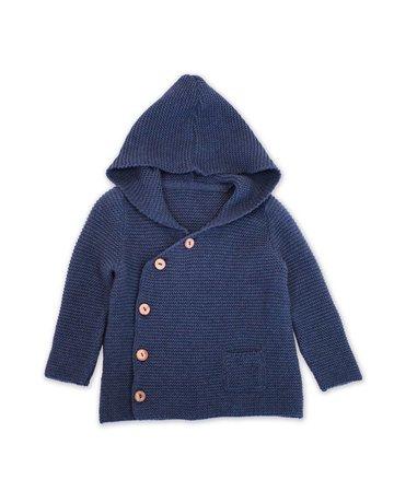 Viverano Organic Hoodie Button Coat