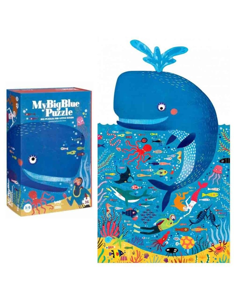 Magic Forest Ltd Magic Forest My Big Blue 36 pc Puzzle