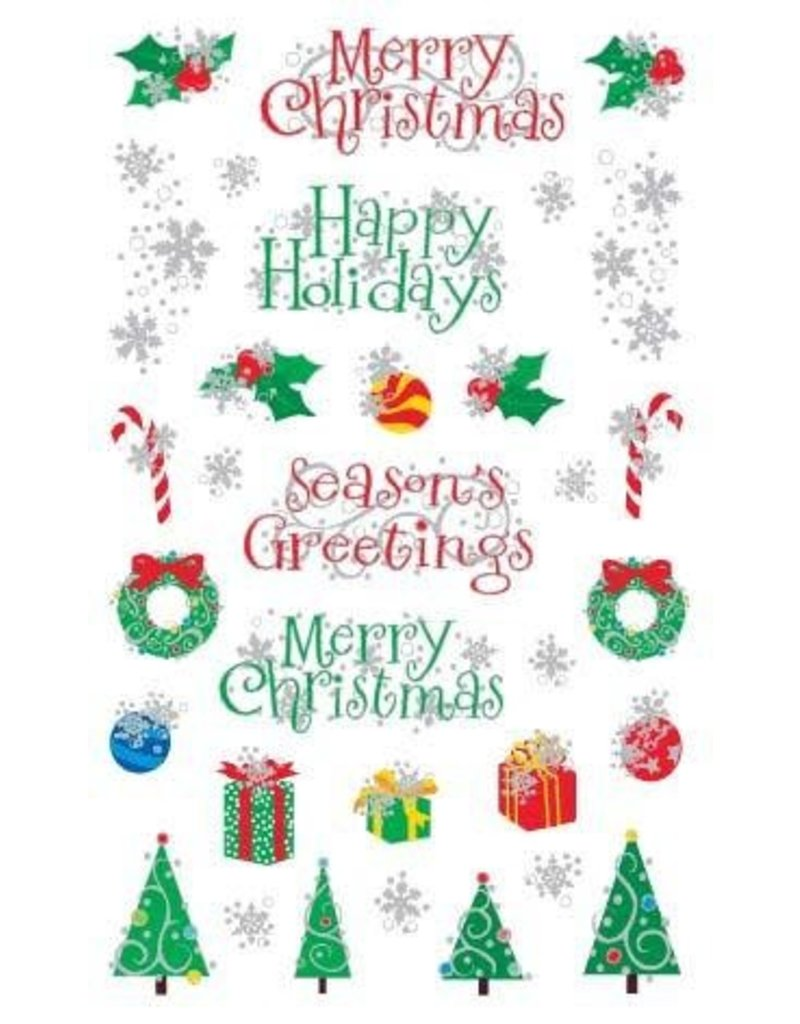 Mrs. Grossman's - Sticker Strip Christmas Holiday Reflections