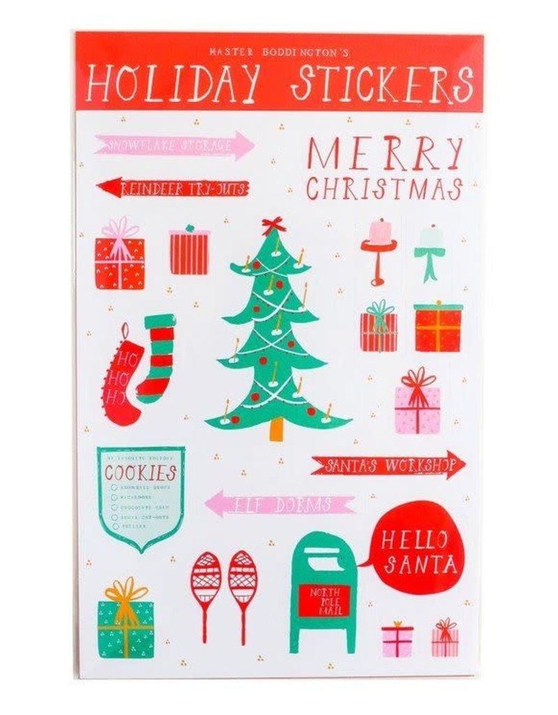 Mr. Boddington's Studio Mr. Boddington's - Holiday Sticker Sheet