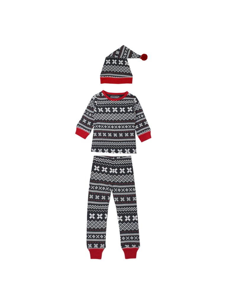 L'ovedbaby L'ovedbaby - Holiday Kids L/S PJ  Set