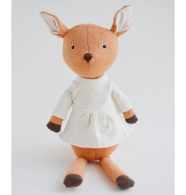 Hazel Village Hazel Village Animals Phoebe Fawn In Tunic