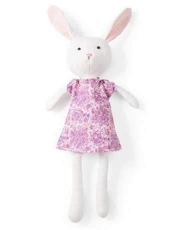 Hazel Village Hazel Village Animals Emma Rabbit In Lilac Dress