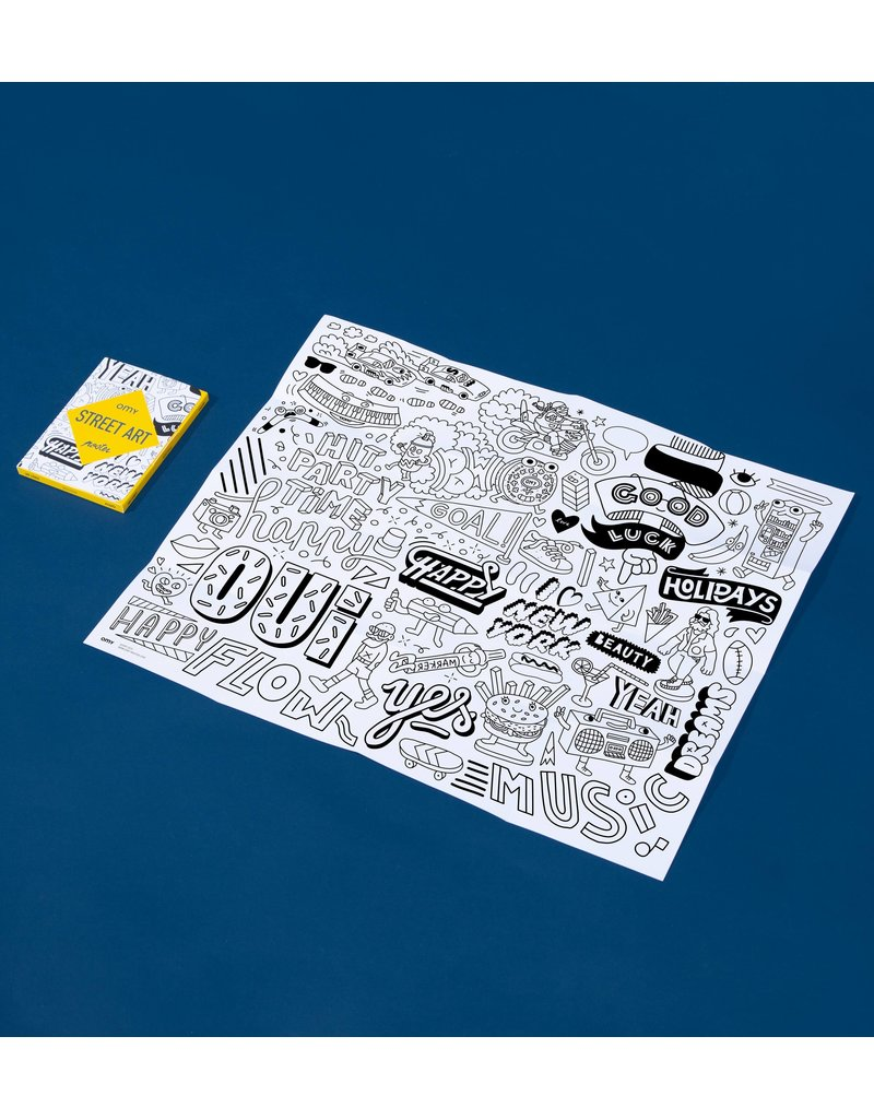 Omy - Coloring Pocket Map
