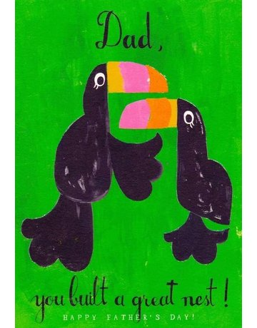 Mr. Boddington's Studio Mr. Boddington's Studio Individual Cards  Dad Nest