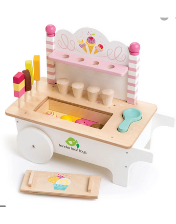 Tender Leaf Toys Tender Leaf Toys Ice Cream Cart