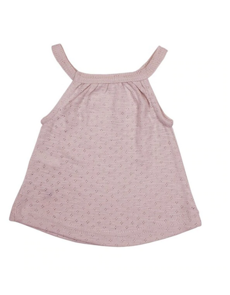 L'ovedbaby L'ovedbaby - Pointelle Halter Tank