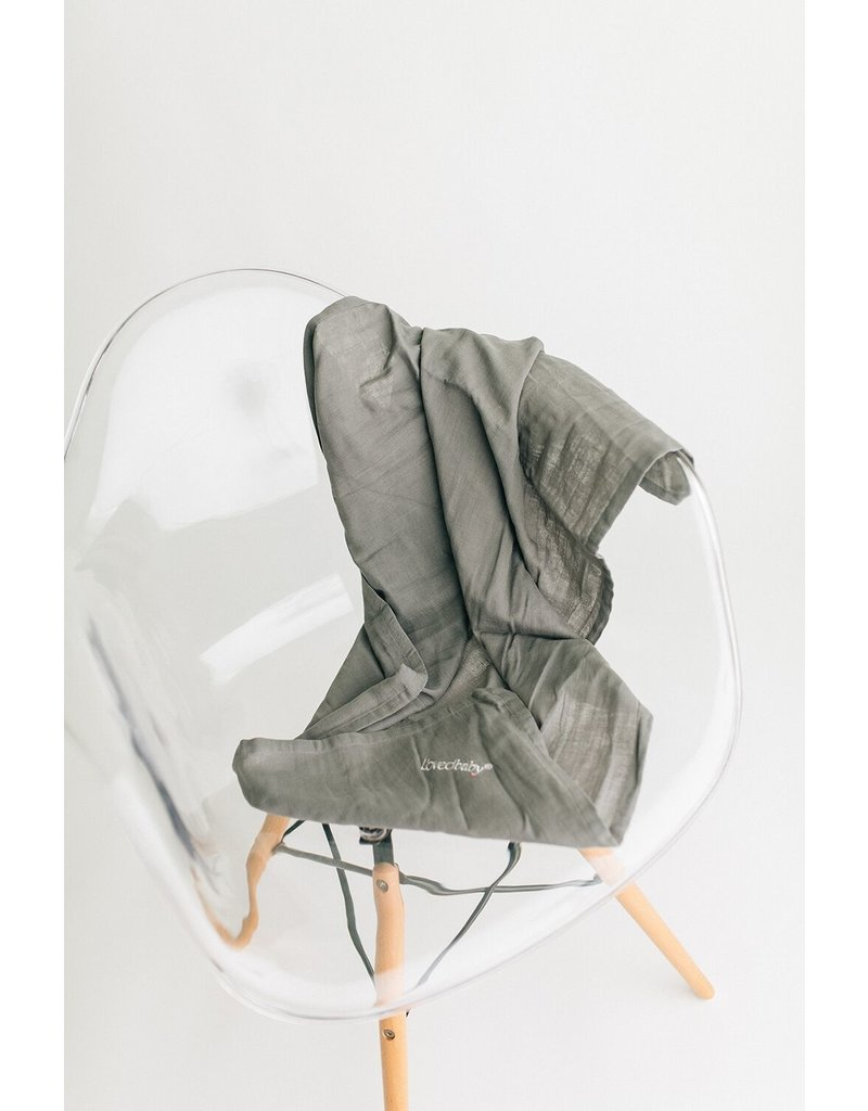 L'ovedbaby L'ovedbaby - Muslin Security Blanket Gray