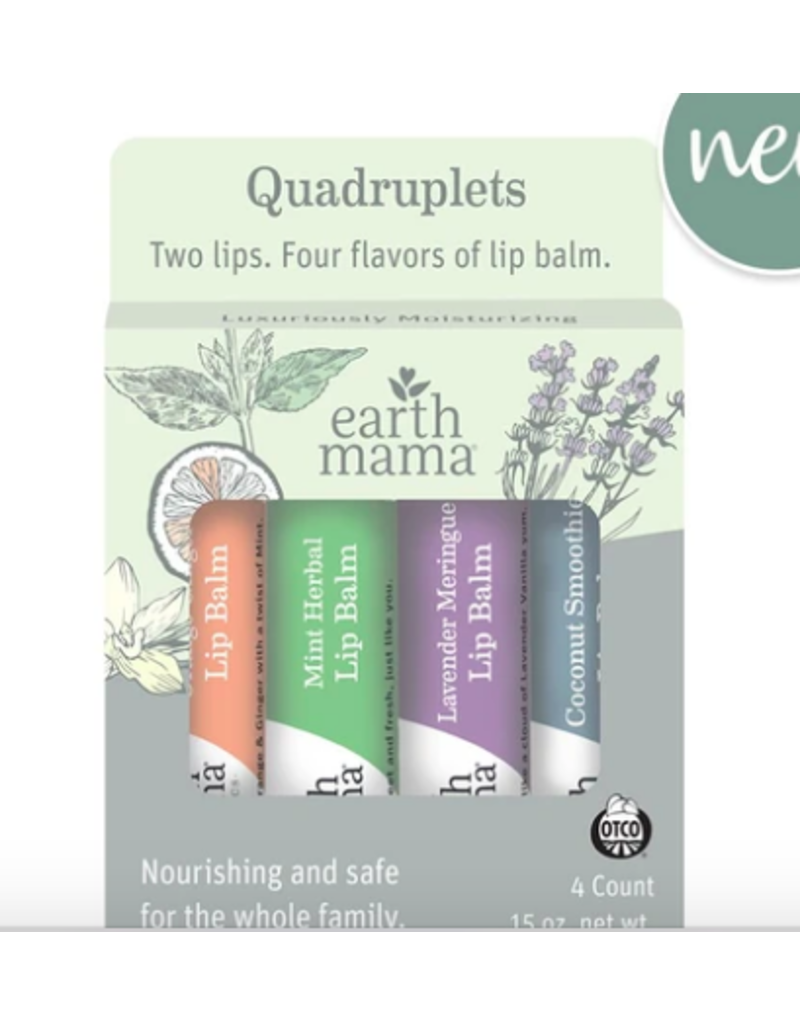 Earth Mama Organics Earth Mama Lip Balm
