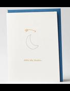 Albertine Press - Card Over the Moon
