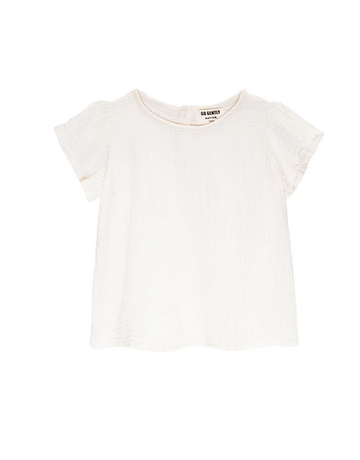 Go Gently Nation Go Gently - Gauze Flutter Blouse