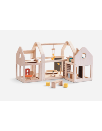 Plan Toys, Inc. Plan Toys Slide N Go Doll House