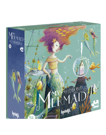 Magic Forest Ltd Magic Forest Mermaid Glitter Puzzle 350 pcs