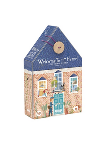 Magic Forest Welcome to My Home Reversible puzzle 36 pcs