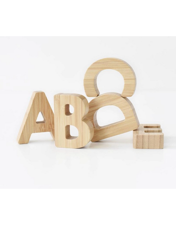 Wee Gallery Wee Gallery - Bamboo Alphabet