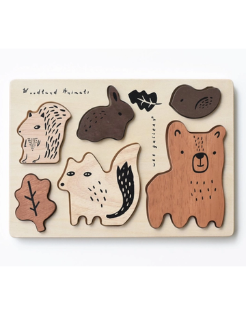 Wee Gallery Wee Gallery - Wooden Tray Puzzle