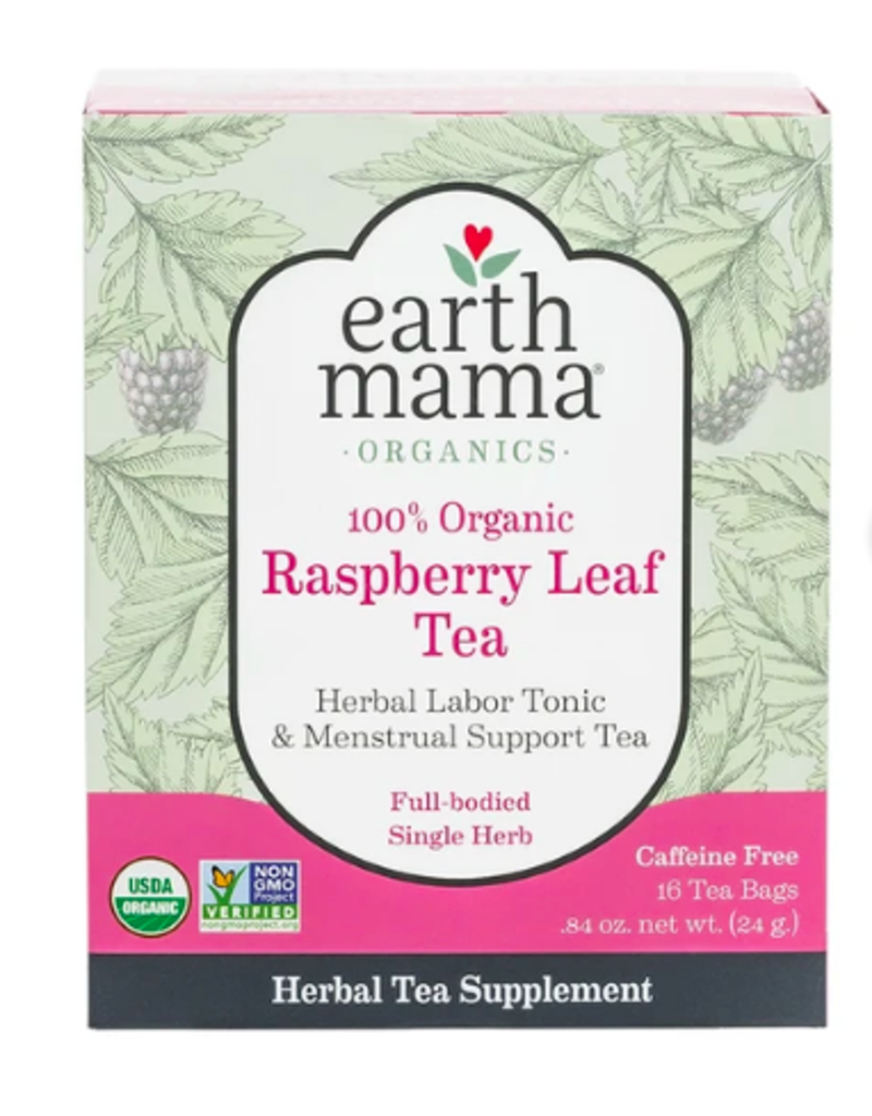 Earth Mama Raspberry Leaf Tea - Labor Support
