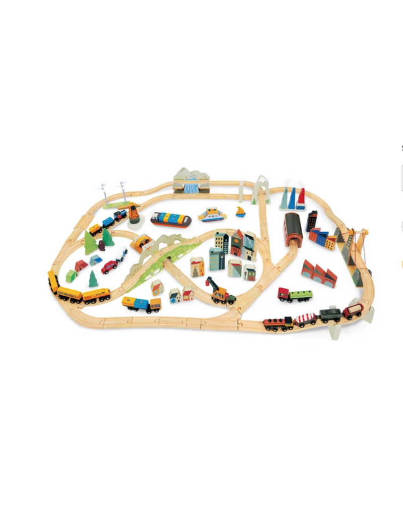 Tender Leaf Toys Tender Leaf Toys - Mountain View Train Set
