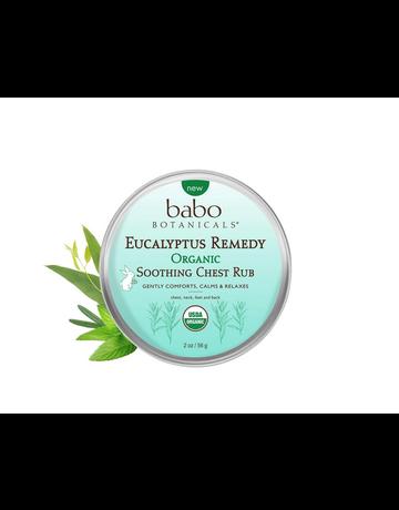 Babo Botanicals Babo Botanicals - Eucalyptus Soothing Chest Rub 2oz