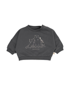 Red Caribou French Terry Sweatshirt