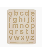 Begin Again - Wooden Alphabet & Numbers Tracing Board Lowercase
